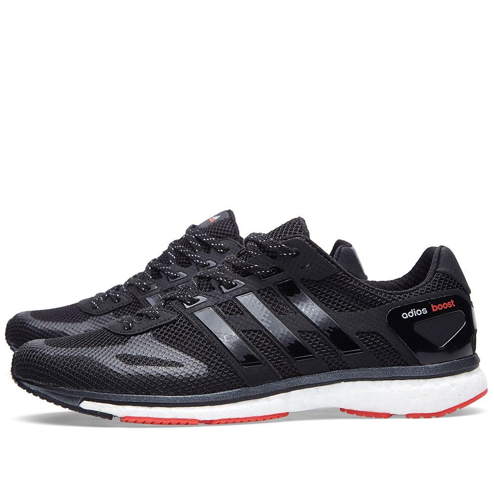 1abbb87cc5ef Adidas Consortium adiZERO Adios Boost Black   Red