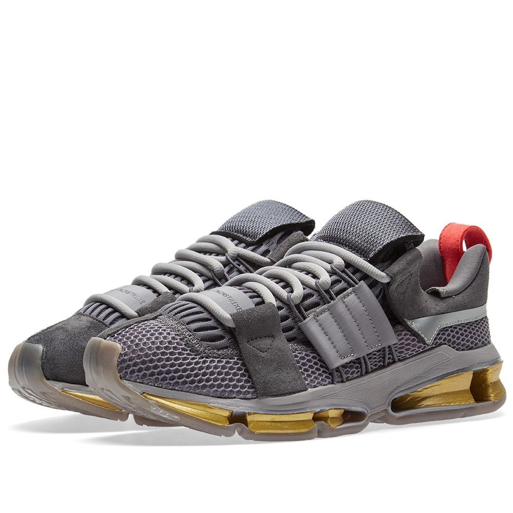 newest dc2ab 9801d Adidas Consortium AD Twinstrike Clear Granite, Black  Red  E