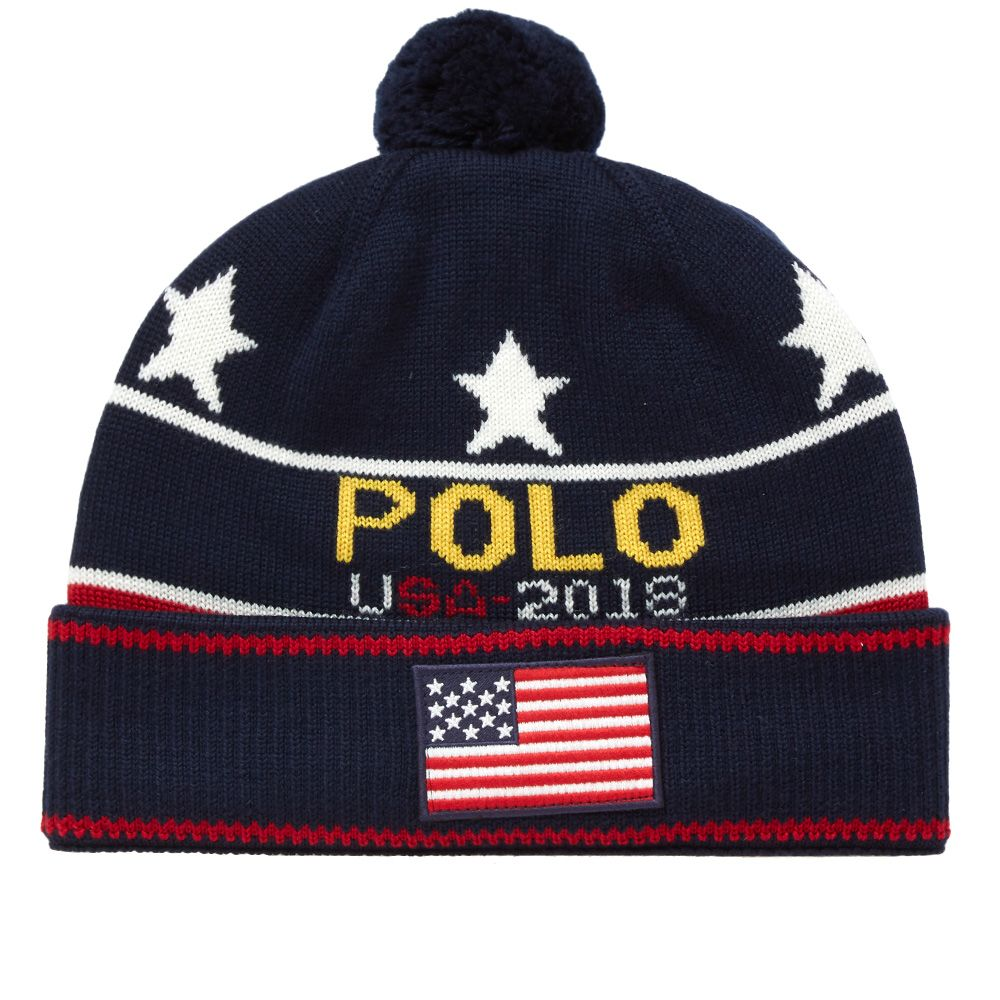 Polo Ralph Lauren Knitted Hat Multi   END. eb198763b87