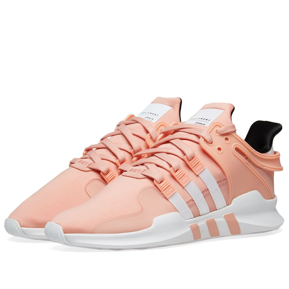 sports shoes ca467 4ecb8 Adidas EQT Support ADV Trace Pink, White  Core Black  END.