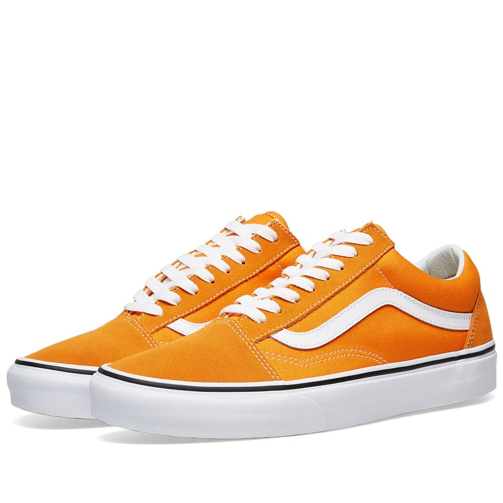 296033cdd7df Vans Old Skool Dark Cheddar   True White