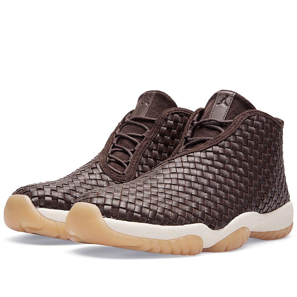 30f4a932d574 Nike Air Jordan Future Premium Dark Chocolate   Sail