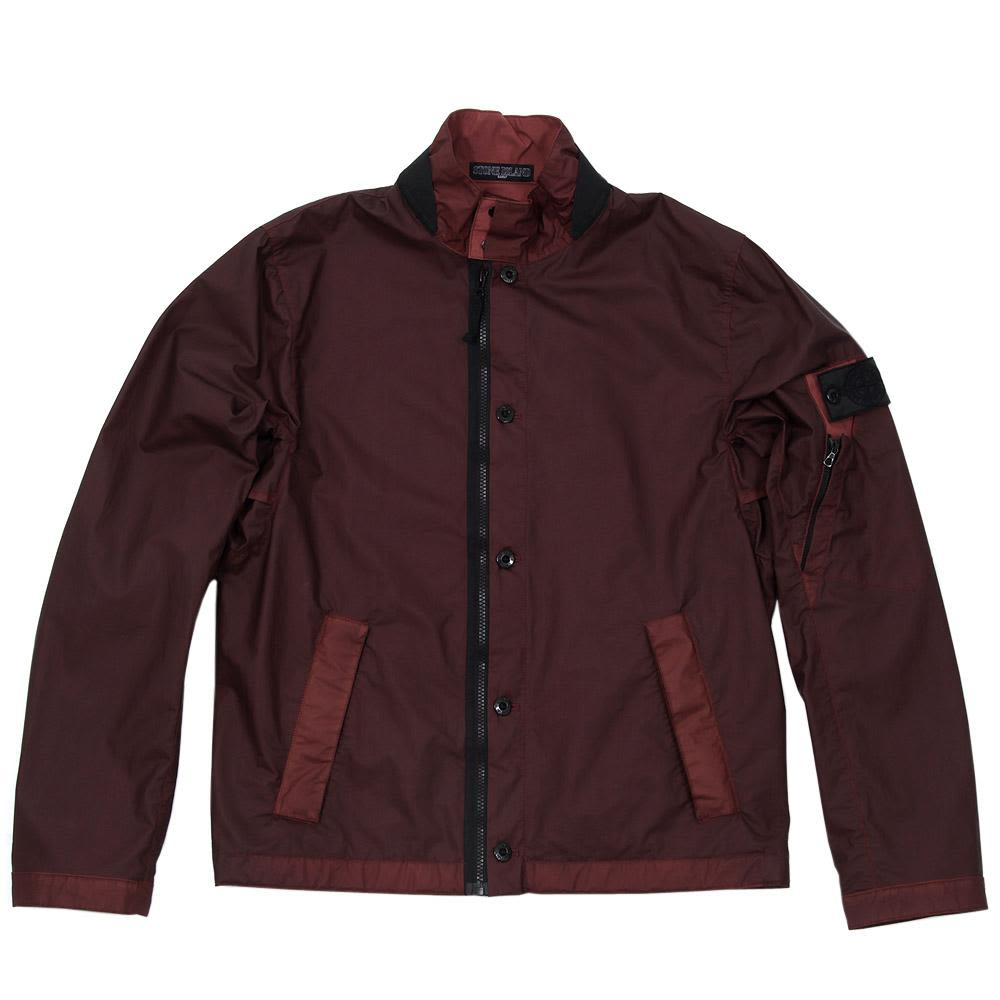 e8eed6c537d699 Stone Island Shadow Project Gommato-R Bomber Jacket Bordeaux