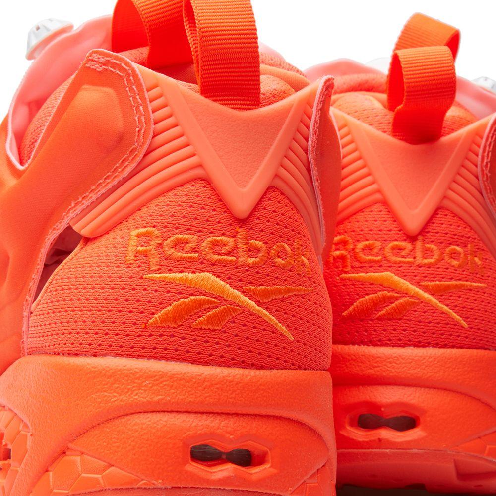 Reebok Instapump Fury Co-op Electric Peach   Atomic Red  d9ea13f6b