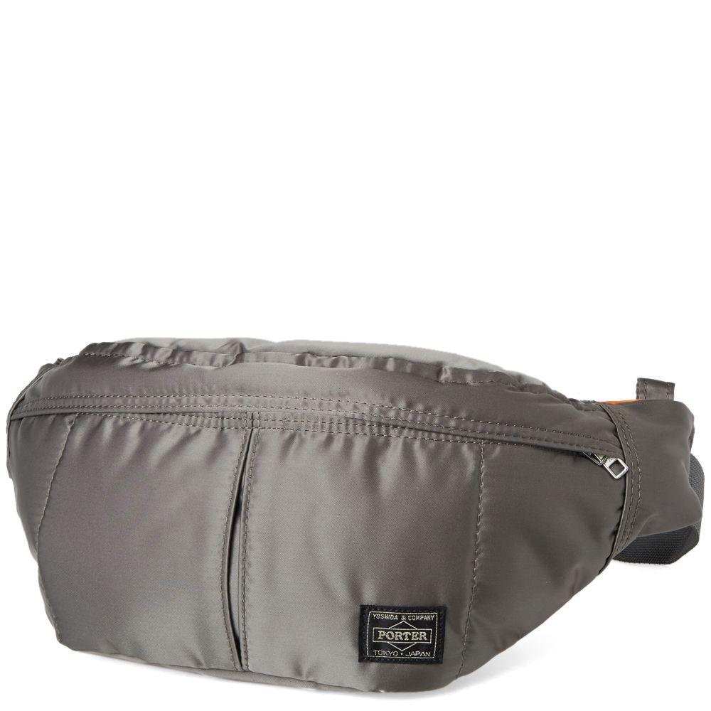 Porter-Yoshida   Co. Tanker Waist Bag Silver  4d3bac218de48