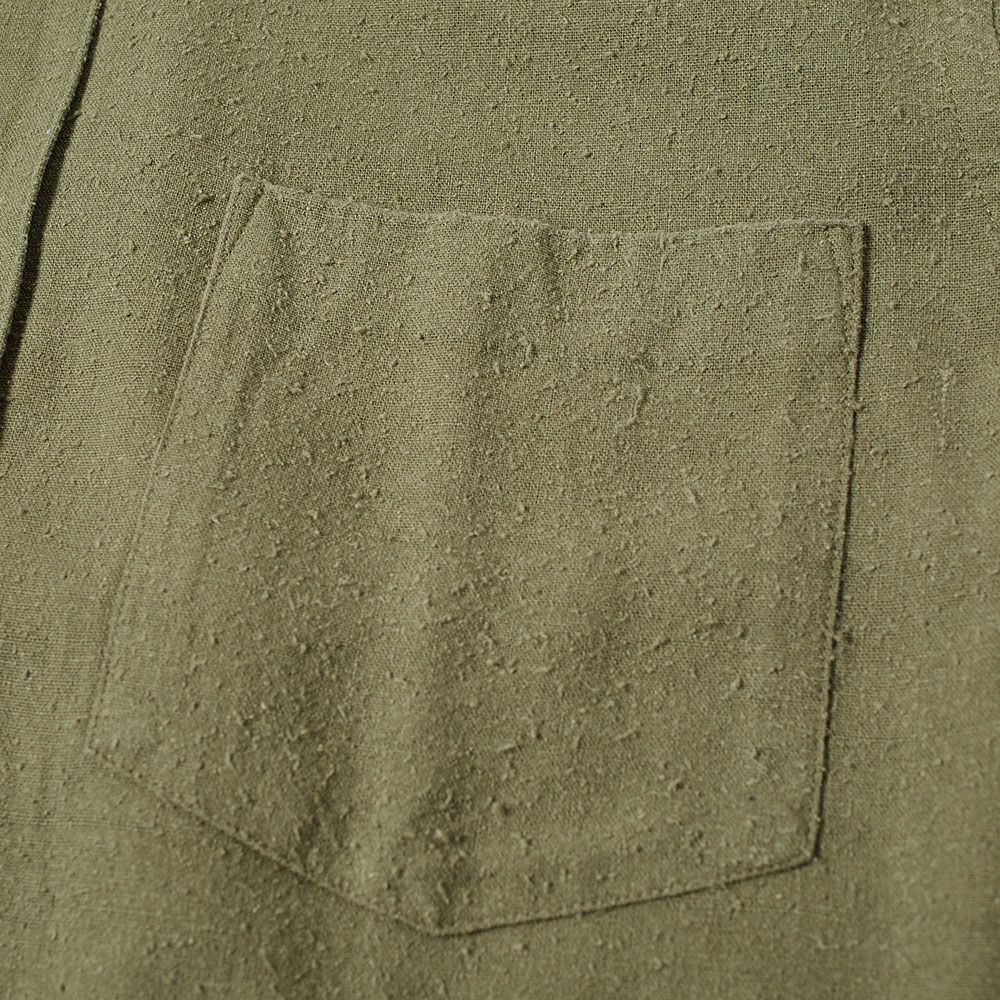 bb71ceeefc8bc Our Legacy Classic Shirt Olive Silk
