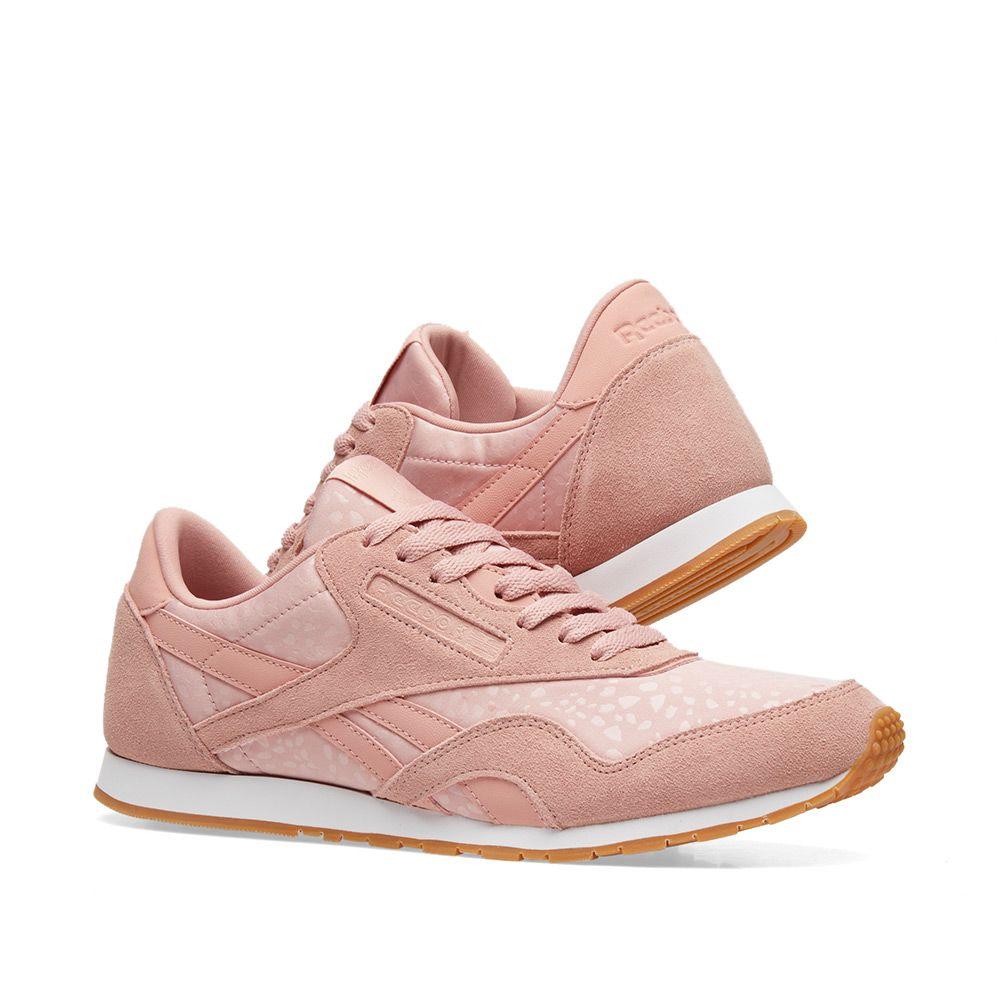 04eb24642cd Reebok Classic Nylon Neutrals W Chalk Pink
