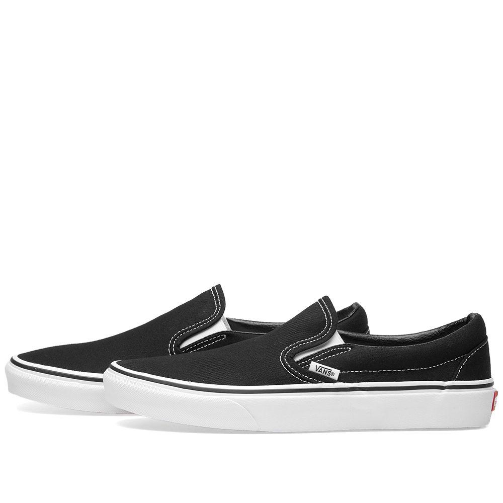 5e5f7ded8b1a3a Vans Classic Slip On Black