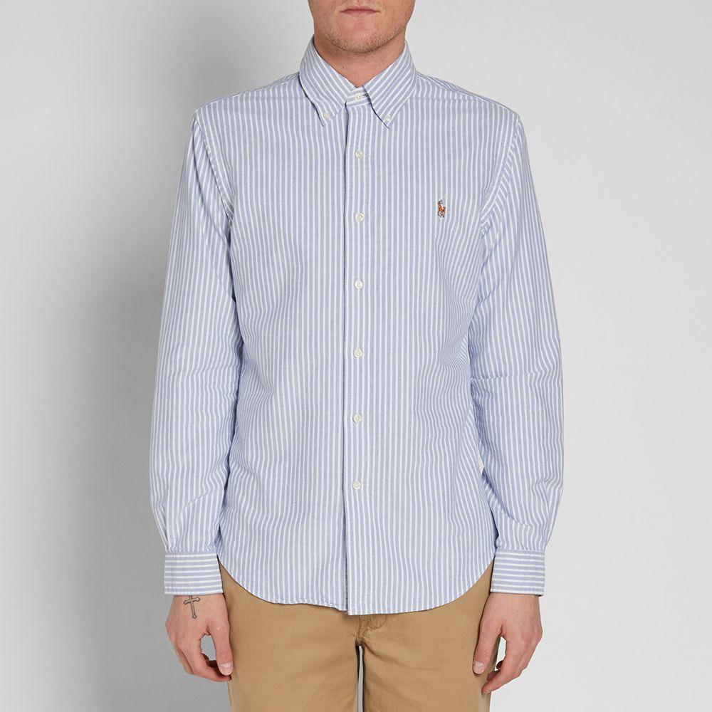 4e4bc652 Polo Ralph Lauren Slim Fit Oxford Shirt White - DREAMWORKS