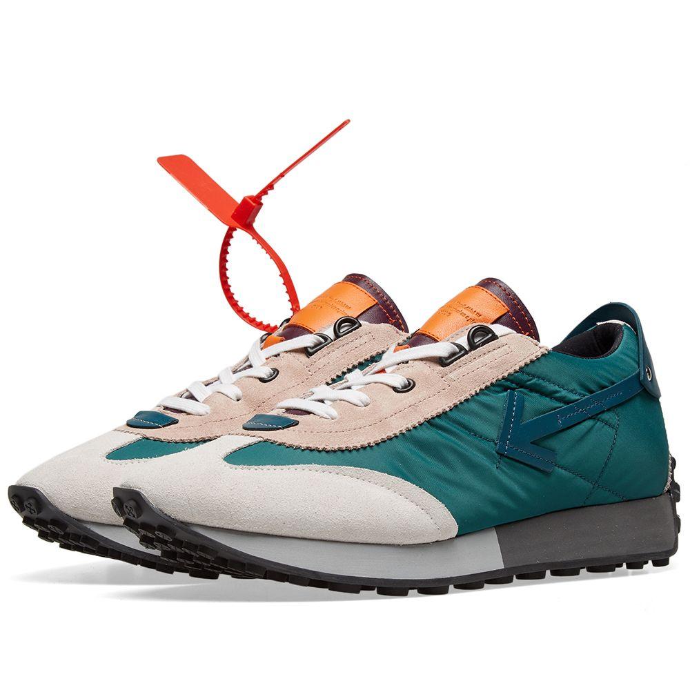 b35cd9a276af Off-White Vintage Arrow Running Sneaker Blue   Beige