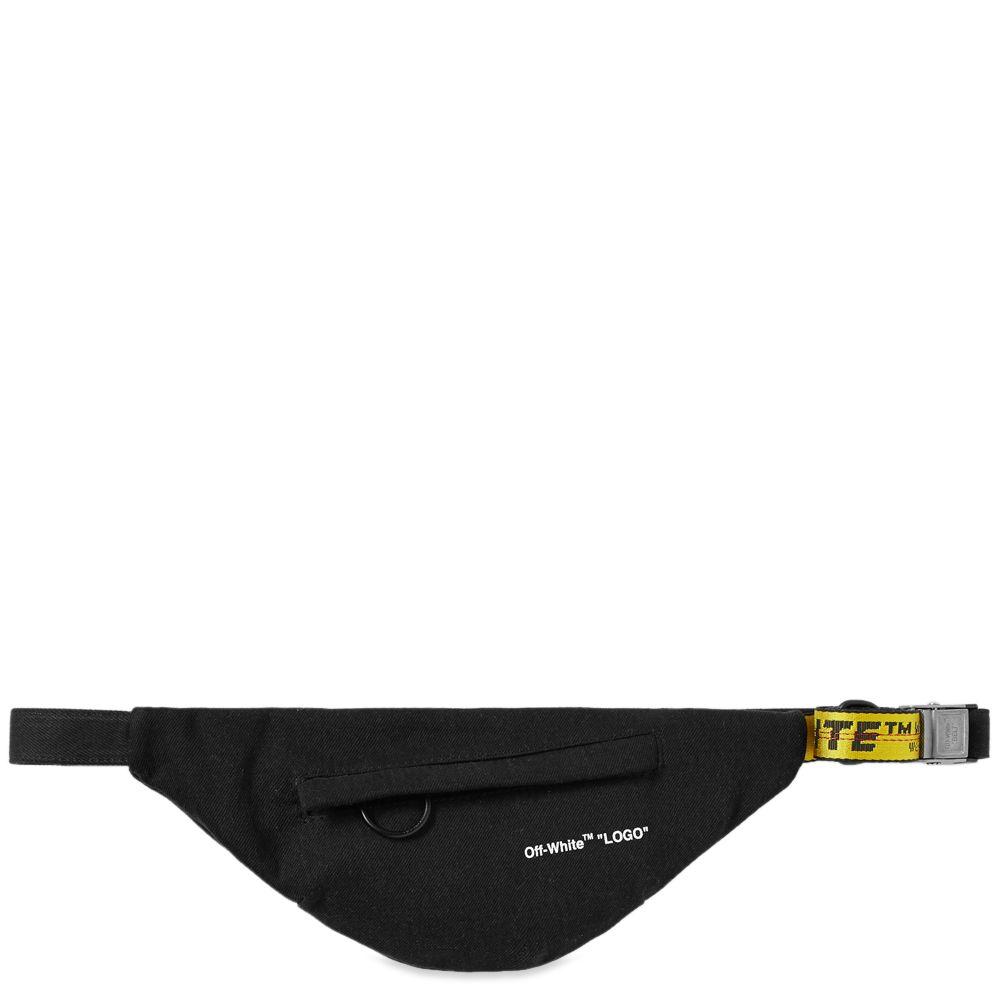 03b08f891cd6 Off-White Vintage Waist Bag Black