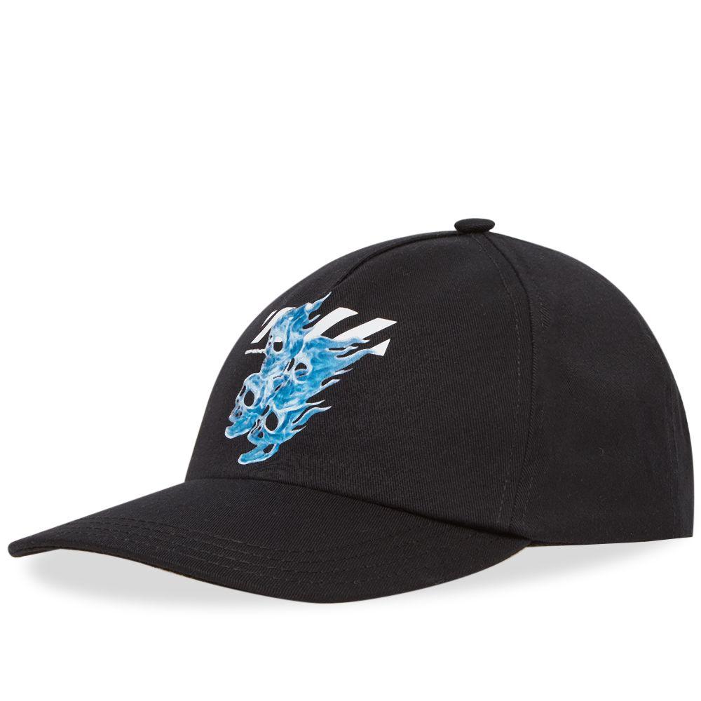 Off-White Skulls Baseball Cap. Black   Multi. £165. Plus Free Shipping.  image f8d939c6b13d