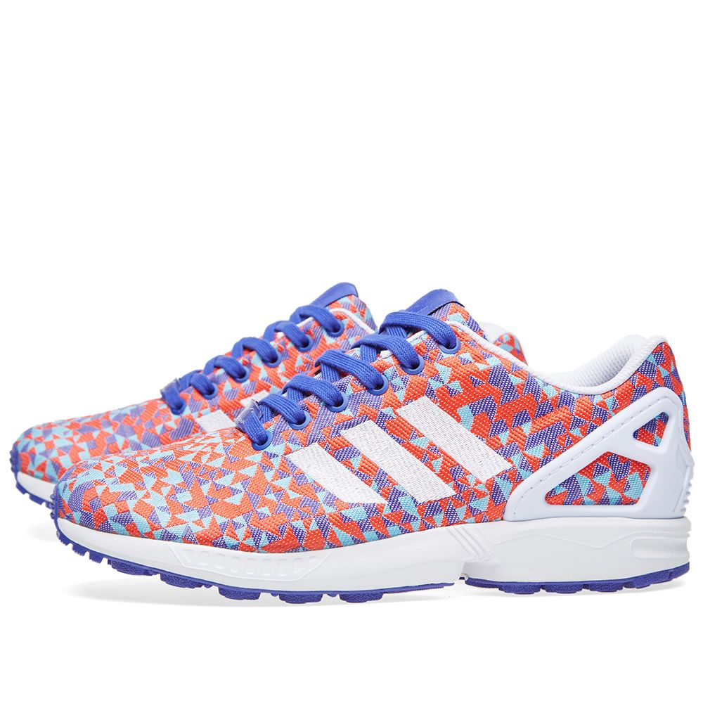 new styles d651e f50fe Adidas ZX Flux Weave. Night Flash   White