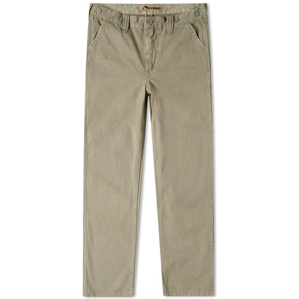 efee4f9d10dd Nigel Cabourn x Lybro Military Pant Washed Army