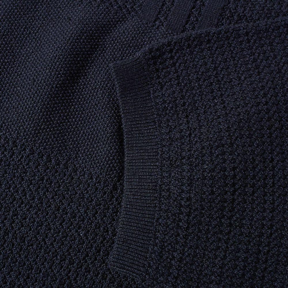 new styles 9df03 3c6bd Adidas x Wings + Horns Linear Tee. Night Navy