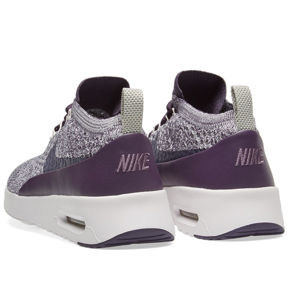 e77c7e42f6365 Nike W Air Max Thea Flyknit Dark Raisin   Pale Grey