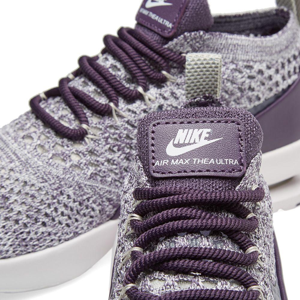 Nike W Air Max Thea Flyknit Dark Raisin   Pale Grey  2ad6deb499