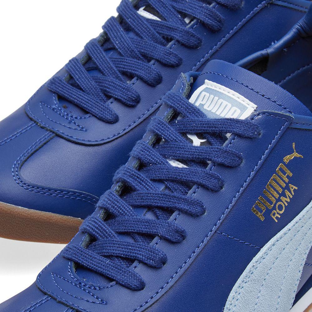 2cfbc1a0f90b08 Puma Roma OG 80s Twilight Blue   Blue Fog