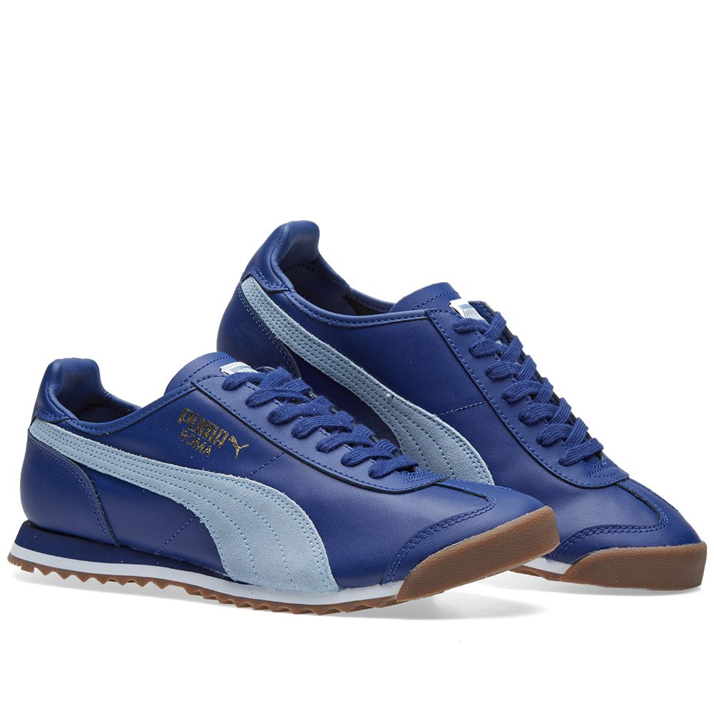 31e0547e8f73e3 Puma Roma OG 80s. Twilight Blue   Blue Fog. £69 £35. image. image. image.  image. image. image. image