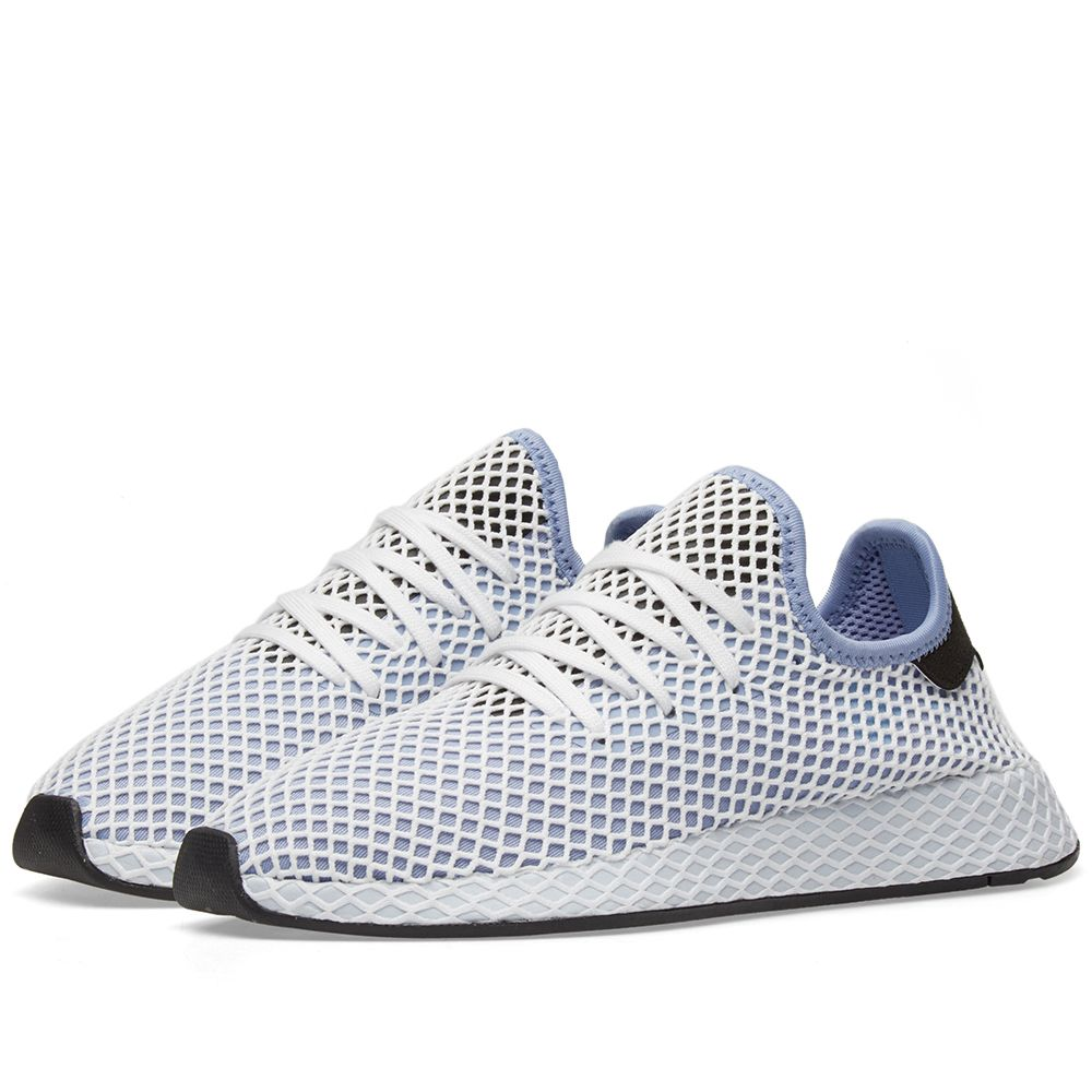 sale retailer a30a6 42d10 Adidas Deerupt Runner W Chalk Blue  Black  END.