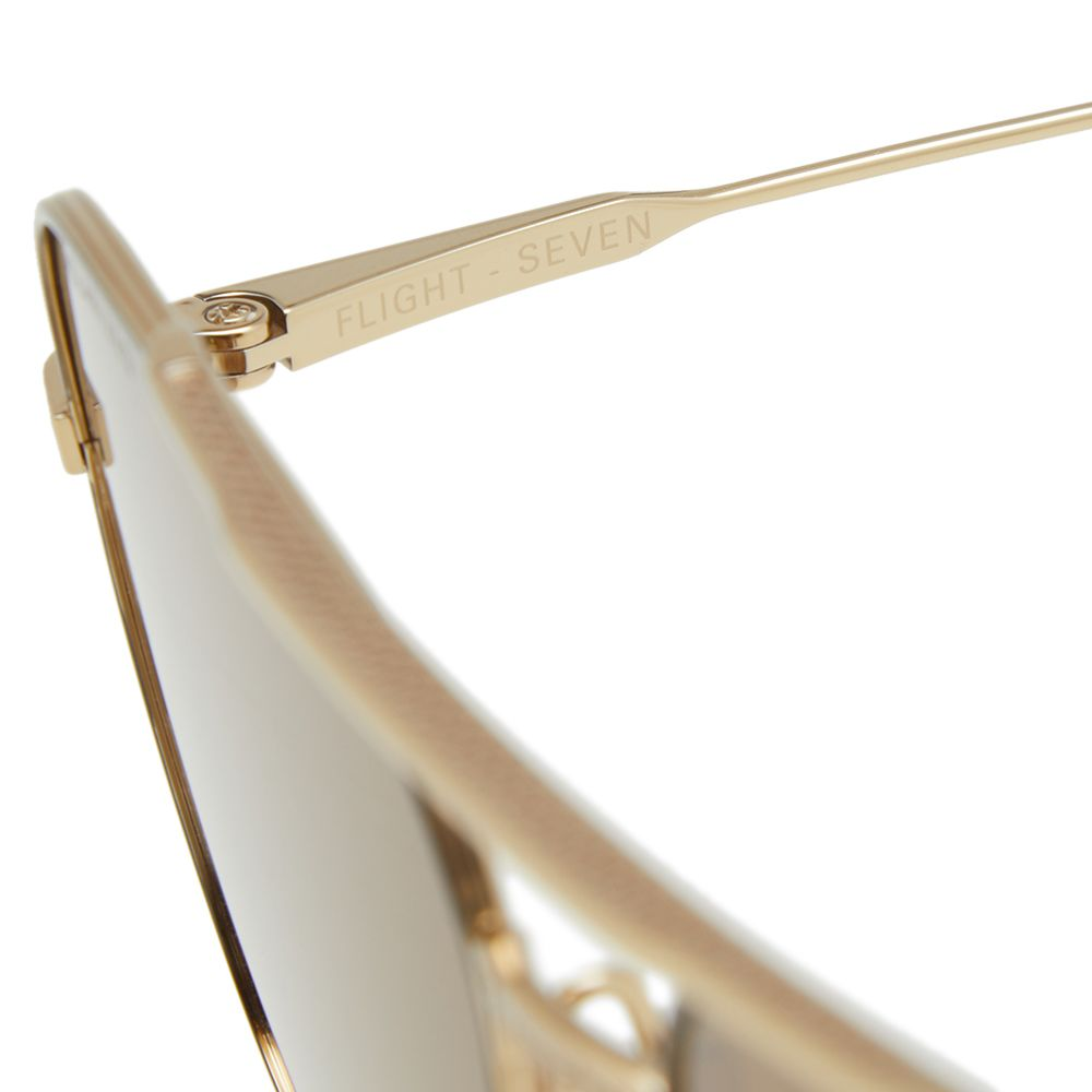d358f4efd1 Dita Flight-Seven Sunglasses Gold Enamel   Brown Polarized