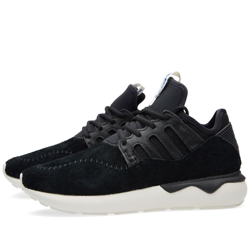 6312e2856203fc Adidas Tubular Moc Runner. Core Black   Off White. £99 £65. image