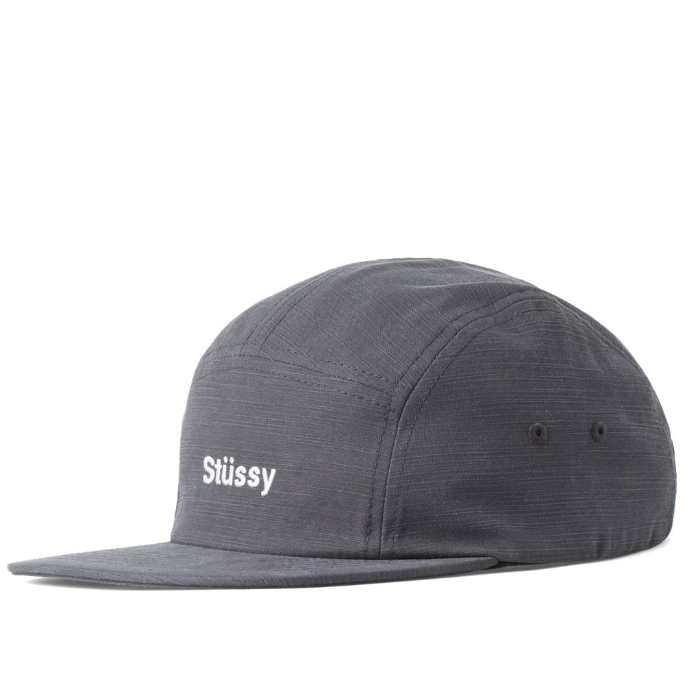 88cd0c58596 Stussy Reverse Twill Camp Cap Black