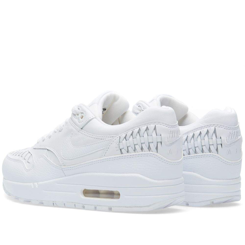 watch f51f6 566fc Nike Air Max 1 Woven. White  Black. 145 75. image. image. image