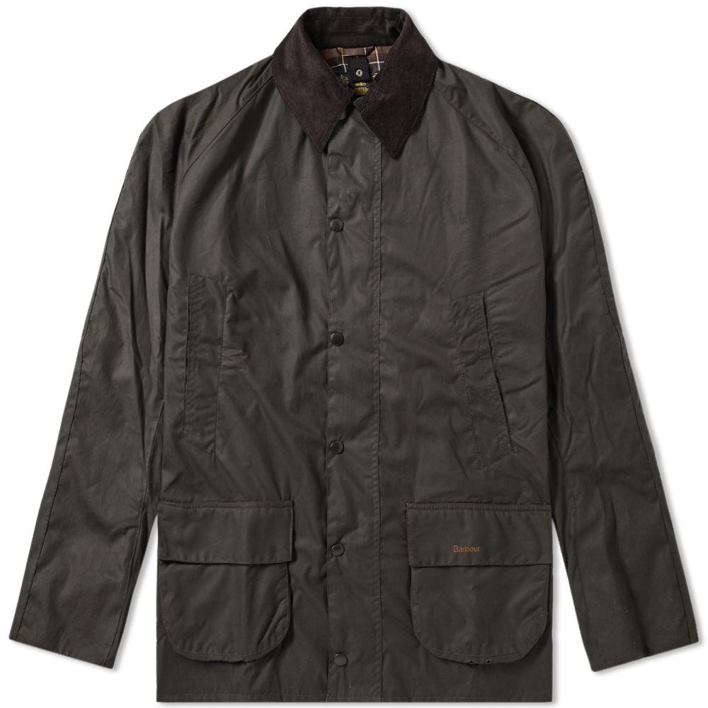 7118db8584857 Barbour Bristol Wax Jacket Olive