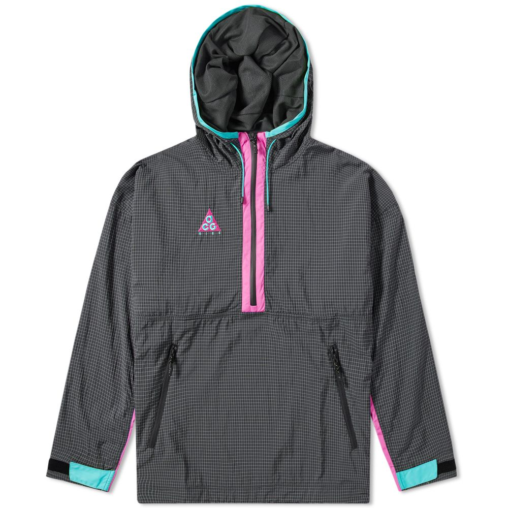 6adefa84a025 Nike ACG Woven Hooded Jacket Anthracite