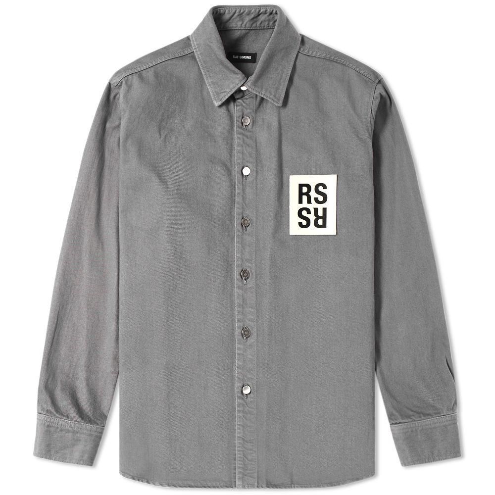 458b2c5a33 homeRaf Simons Patch Denim Shirt. image. image. image. image. image. image.  image. image