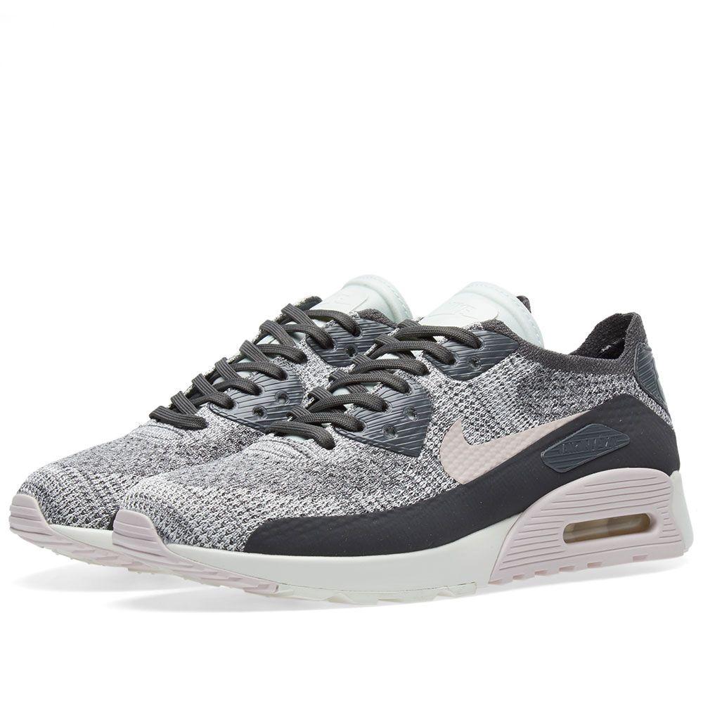 41725652d294 Nike Air Max 90 Ultra 2.0 Flyknit W Midnight Fog