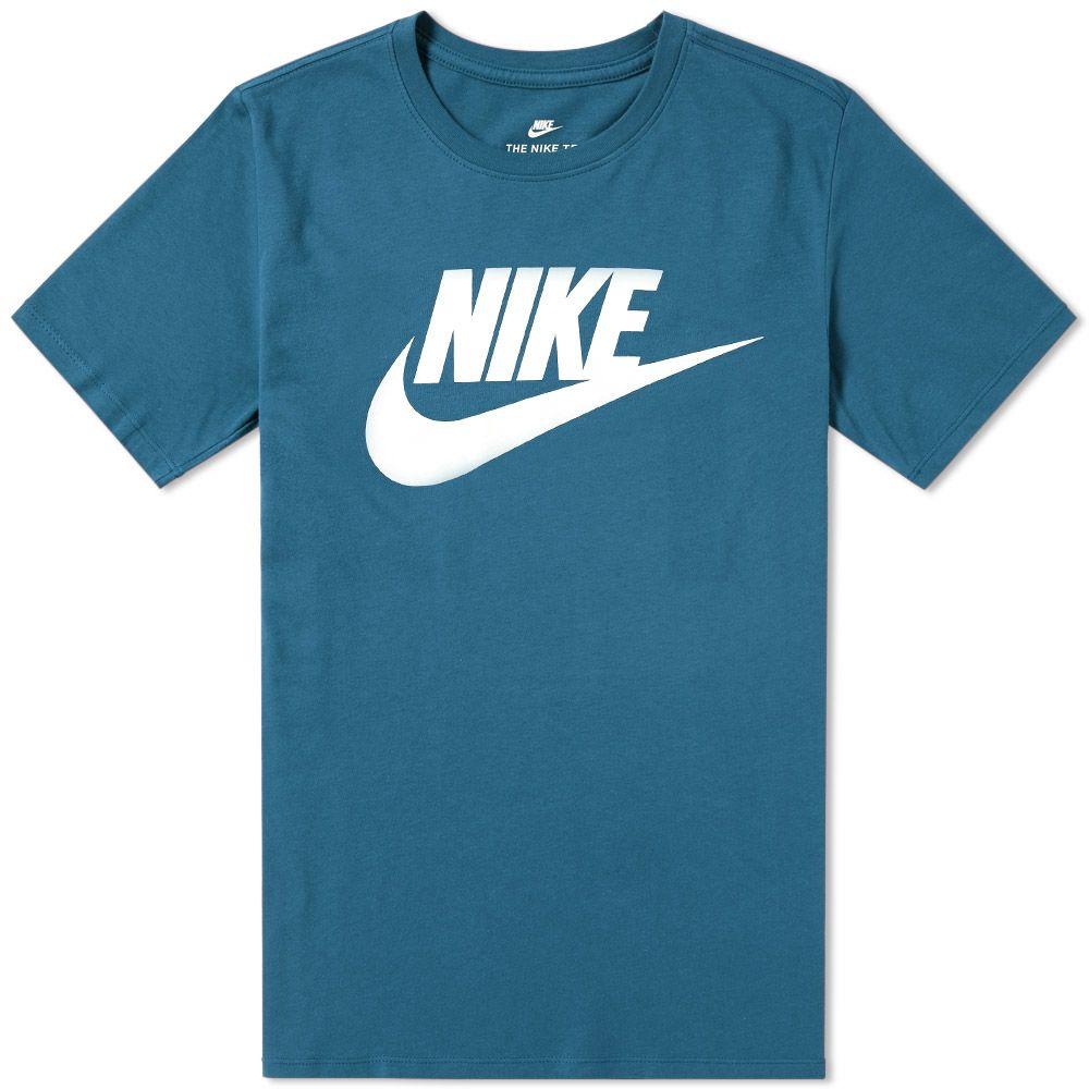 ed0c81f19 Nike Futura Icon Tee Space Blue & White   END.
