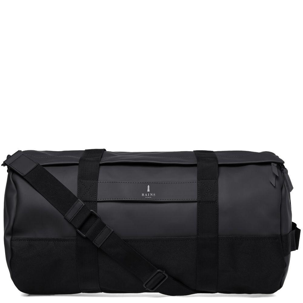da016b3756 Rains Duffel Bag Black