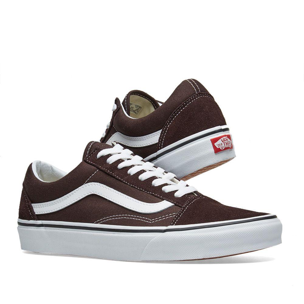 b732d777e56804 Vans Old Skool Chocolate Torte   True White
