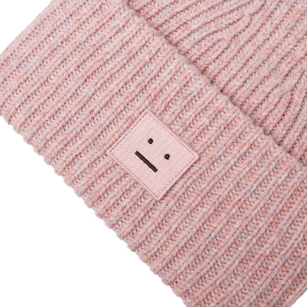 f8adc8a3016 Acne Studios Pansy W Face Beanie Dusty Pink