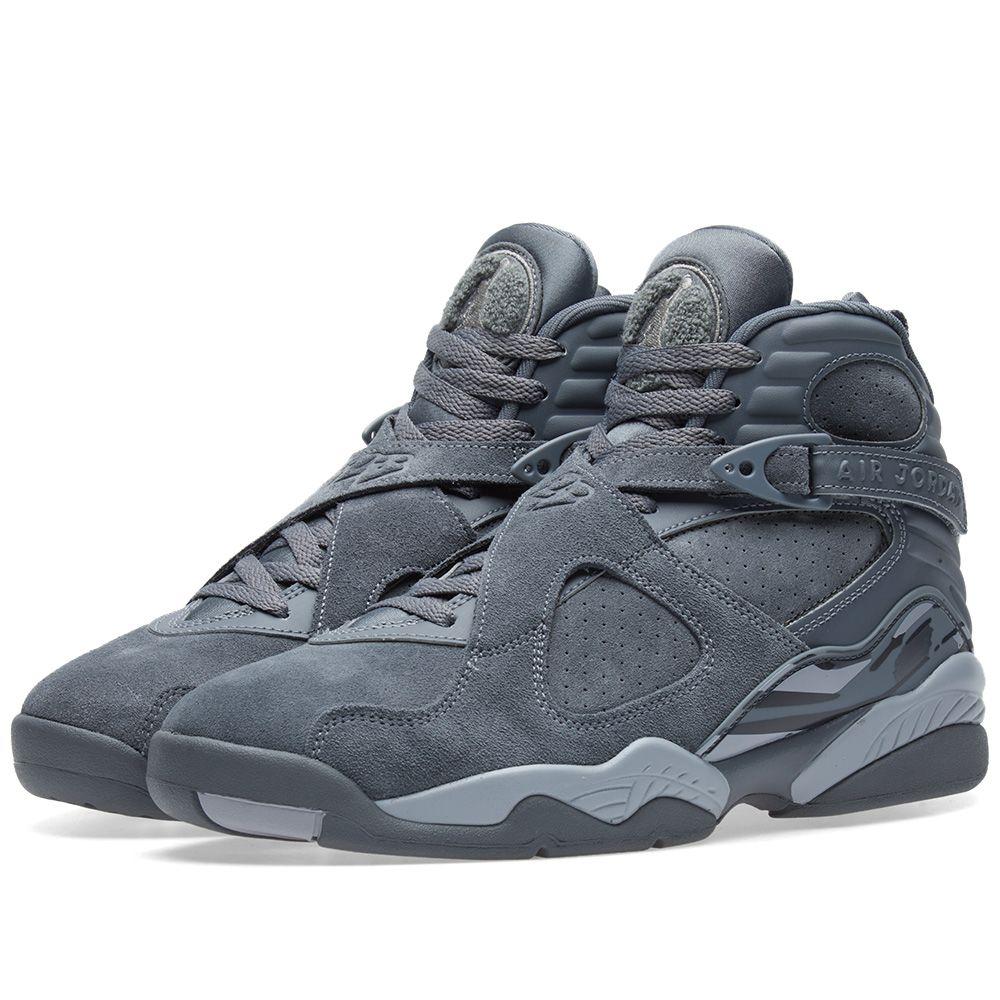 f1d0f0ff311893 Nike Air Jordan 8 Retro. Cool Grey   Wolf Grey. CA 259 CA 169. image