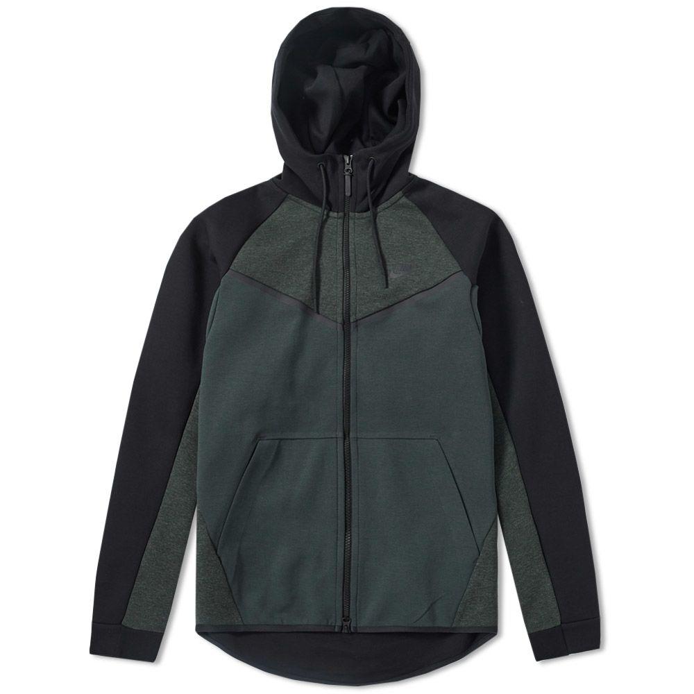 1baa594759 Nike Tech Fleece Windrunner. Outdoor Green Heather   Black. AU 139 AU 95.  image