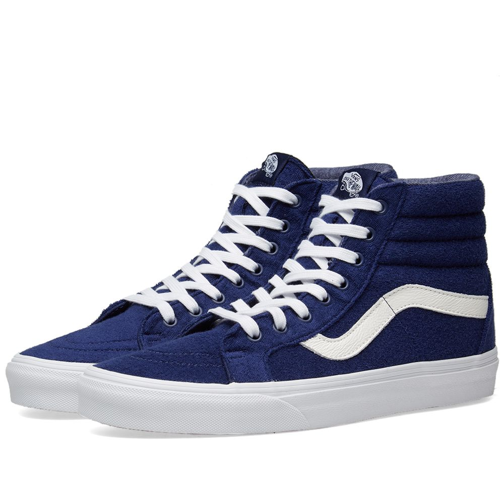 889e317e1d28 Vans SK8-Hi Reissue Terry Medieval Blue