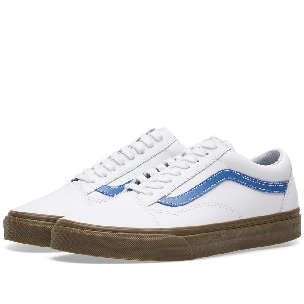 Vans Old Skool True White   Delft  c5ee3431a3