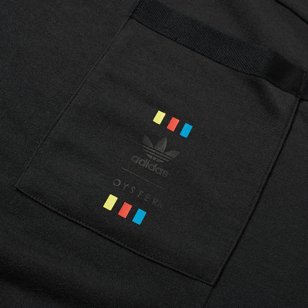 46ad6fceb64 Adidas Consortium x Oyster Holdings 48 Hour Tee. Black. £59 £35. image.  image. image