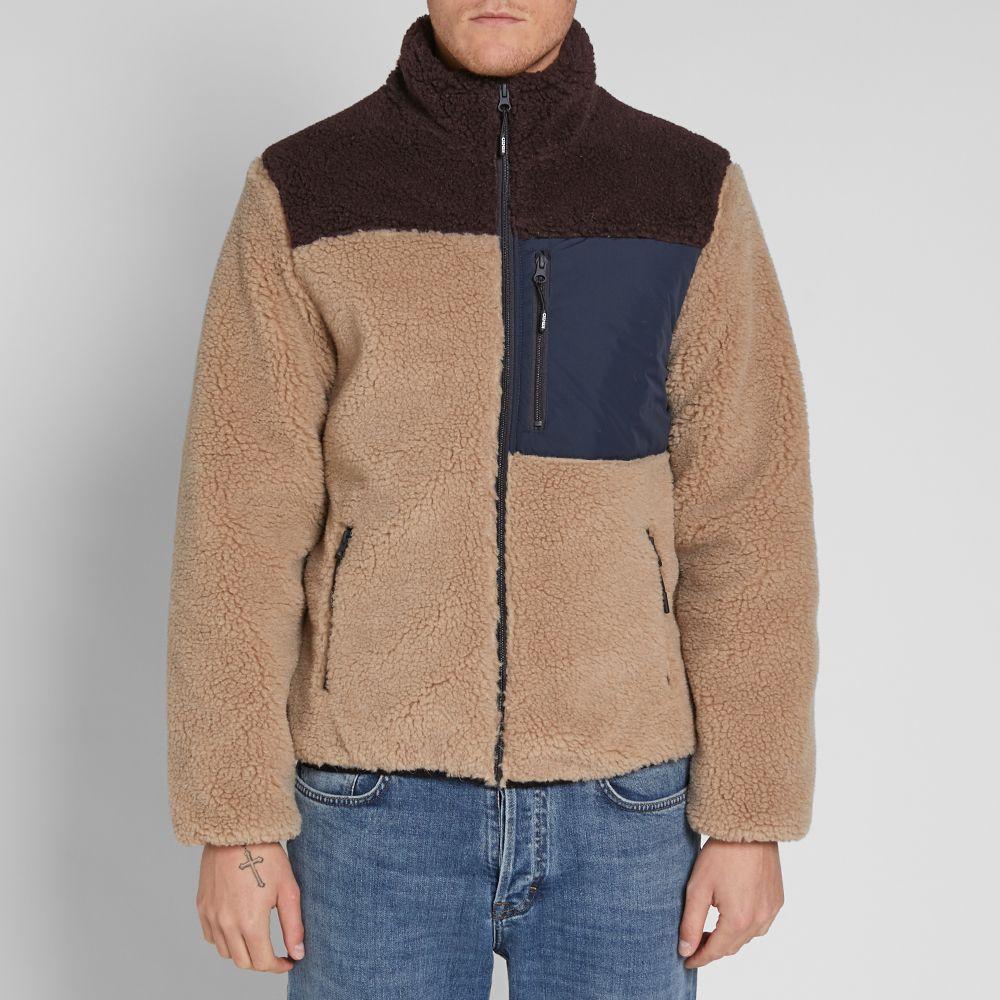 Kenzo Shearling Down Jacket Camel  da84e42eb