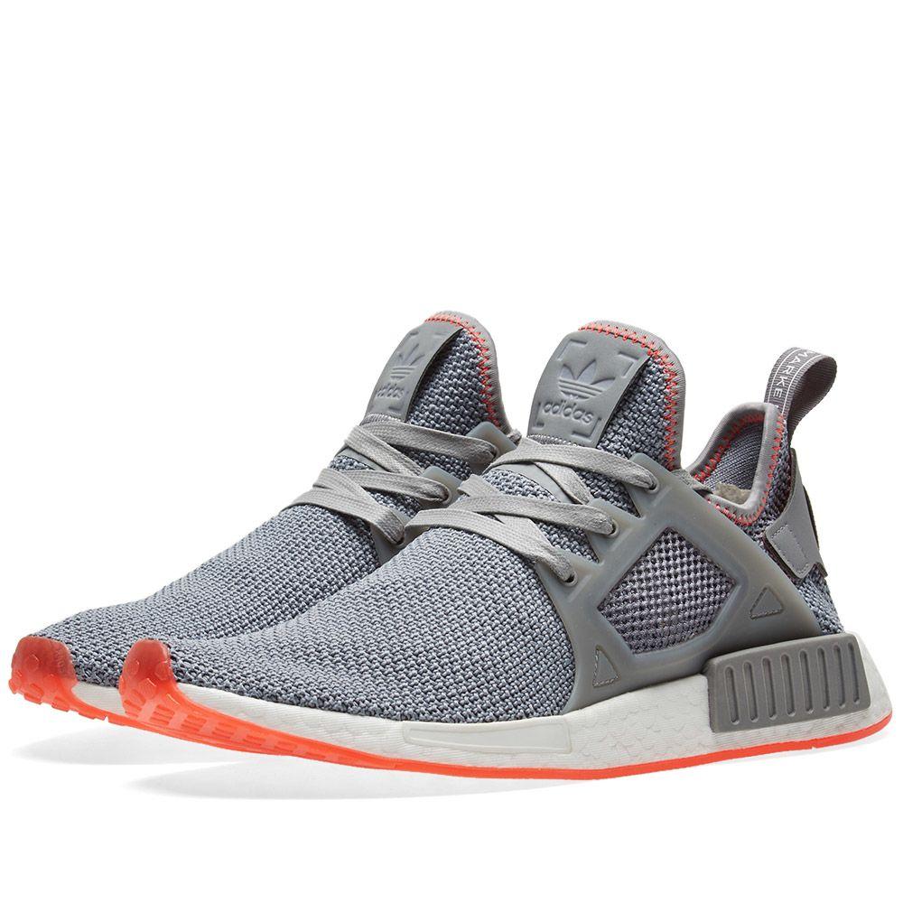 purchase cheap 61545 7fa09 Adidas NMD XR1 Grey Three   Solar Red   END.