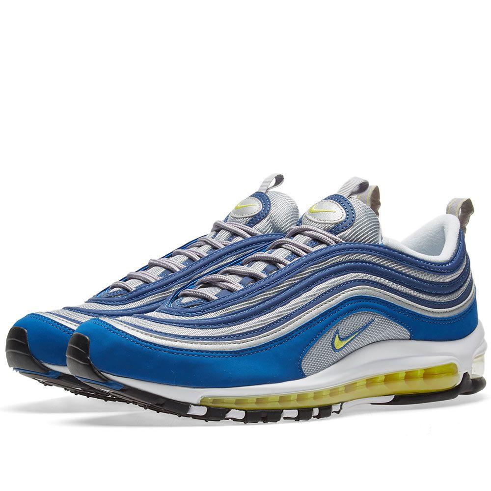 ba2b4194001 Nike Air Max 97 Atlantic Blue   Voltage Yellow
