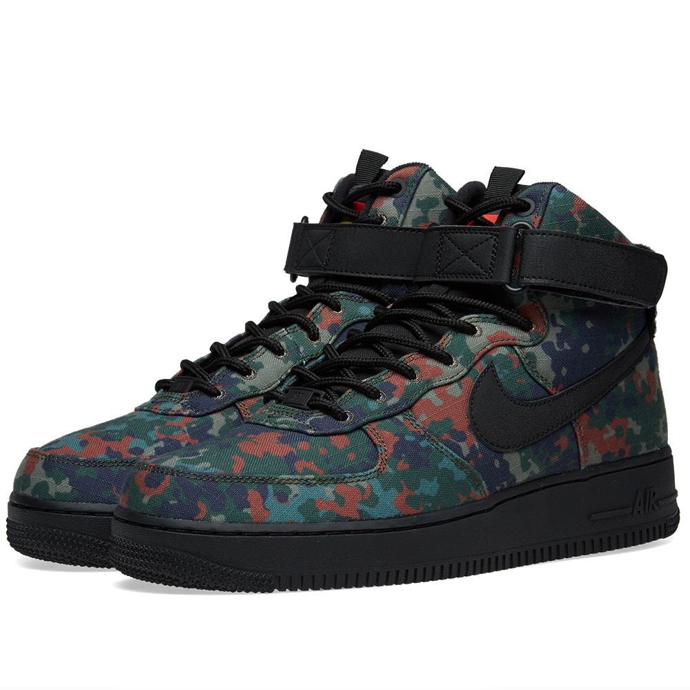 separation shoes cfcf8 4b069 Nike Air Force 1 High 07 LV8 Camo Pack Germany Alligator, Bl