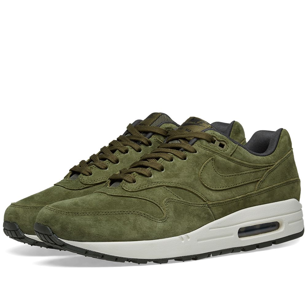 Nike Air Max 1 Premium. Olive 327bc6350