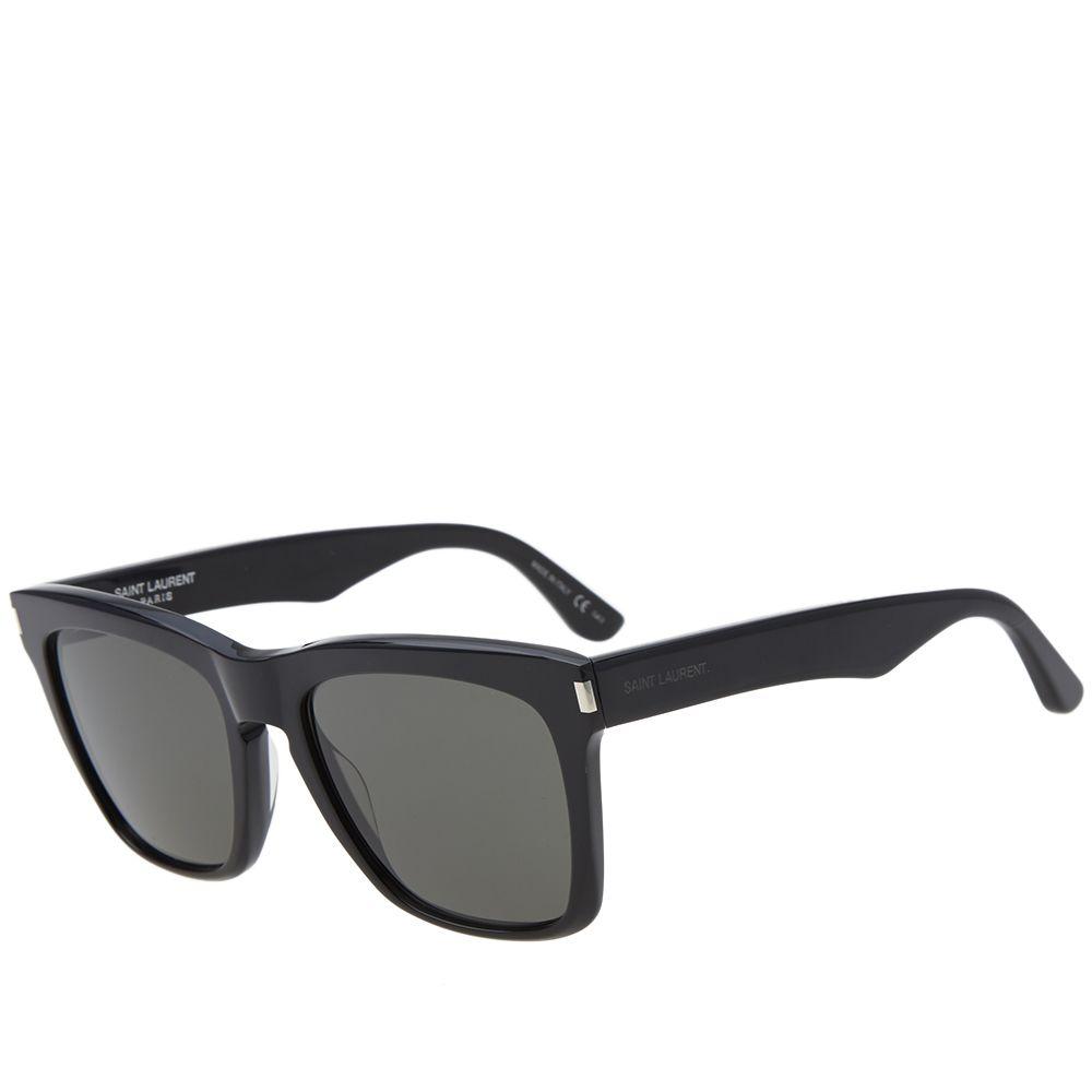 dcbc8863cdd Saint Laurent SL 137 Devon Sunglasses Black   Grey