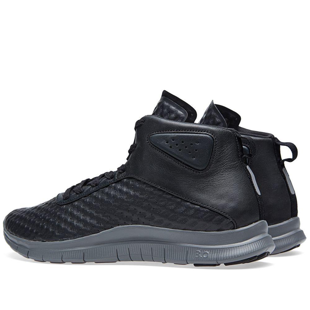 10a4c4b51554f Nike Free Hypervenom Mid Black