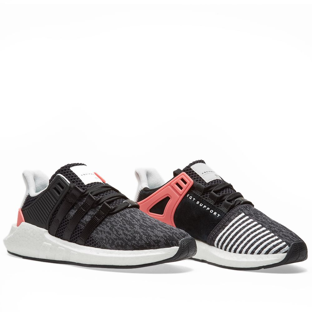 new concept ed325 0968f Adidas EQT Support 9317. Core Black  Turbo