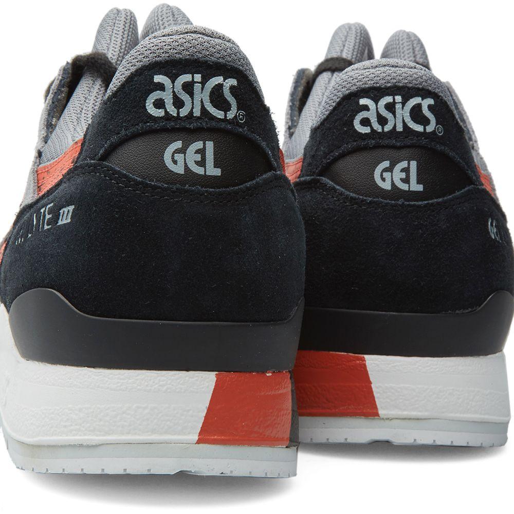 b8cbc4c11139 Asics Gel Lyte III  Granite . Black   Chilli. £95 £49. image